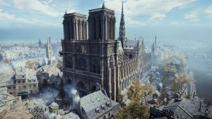 Notre Dame in Assassin's Creed Unity
